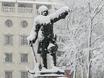Воронеж заметает снегом  136770