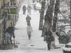 Воронеж заметает снегом  136772