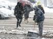Воронеж заметает снегом  136776