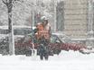 Воронеж заметает снегом  136782