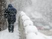 Воронеж заметает снегом  136794