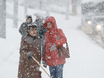 Воронеж заметает снегом  136797