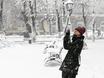 Воронеж заметает снегом  136800