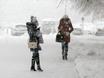 Воронеж заметает снегом  136801