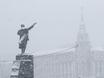 Воронеж заметает снегом  136802