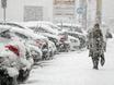 Воронеж заметает снегом  136805