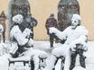 Воронеж заметает снегом  136807