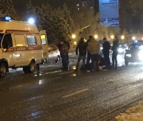 На Московском проспекте BMW сбил женщину (ФОТО-ВИДЕО)