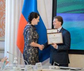 Алексей Гордеев наградил победителей конкурса «Лучшее муниципальное образование»