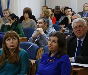 Публичные слушания бюджета Воронежа на 2016 год начались под звук пилы