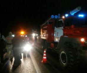 На трассе М-4 «Дон» автобус вылетел в кювет, есть пострадавшие