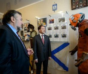 Губернатор оценил работу Воронежской водолазной школы