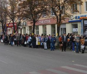 Воронежцы собирают подписи за сохранение остановки «Улица Кольцовская»