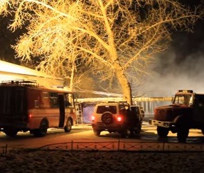 В Воронеж перевезли четырех пострадавших на пожаре в Алферовке