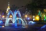 В Кольцовском сквере открылся «Зимний фонтан»