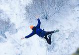 Воронежские «Снегурочка» и «Дед Мороз» показали прыжок с 30-метровой высоты