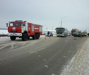 Массовое ДТП произошло в Воронежской области на трассе М-4 «Дон» (ФОТО)