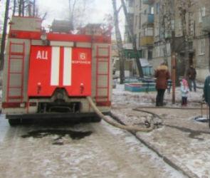 В Воронеже из-за пожара в квартире эвакуировали 5 человек
