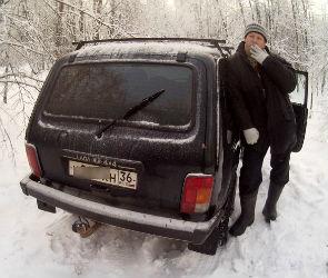 В Воронежском заповеднике задержали браконьера, охотившегося на кабана (ВИДЕО)