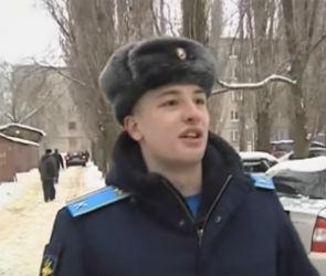 Воронежский курсант, спасший детей на пожаре, получит награду от МЧС
