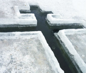 Более 28 000 жителей Воронежа и области окунутся в прорубь в крещенскую ночь