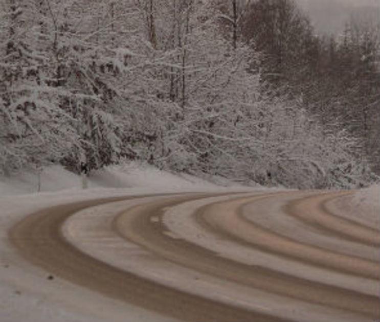 Дорожники предупредили воронежцев о гололеде, мокром снеге и сильном ветре