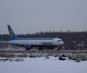 Воронежский аэропорт принял первый грузовой рейс (ФОТО)