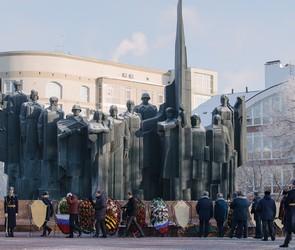 В Воронеже почтили память солдат-героев, павших в боях за город (ФОТО)