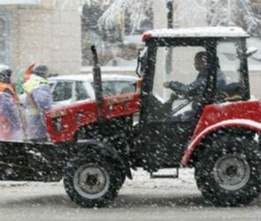 В Воронеже коммунальщики на две ночи перекроют центр города для вывоза снега