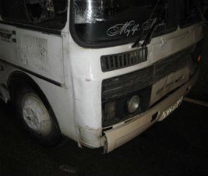 В Воронеже автобус сбил девушку на пешеходном переходе (ФОТО)
