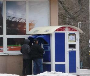 Игровые автоматы в Воронеже работают прямо на остановках (ФОТО)
