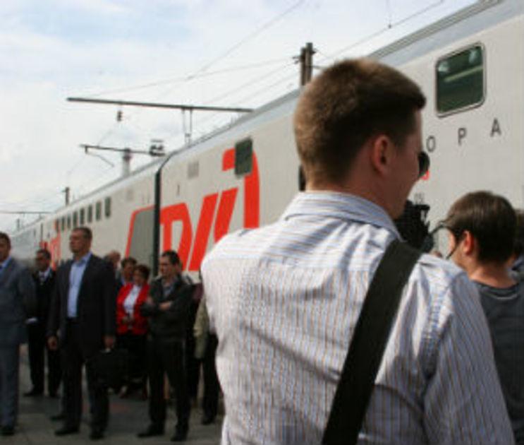 РЖД: Скорый поезд «Воронеж-Москва» сократит время в пути