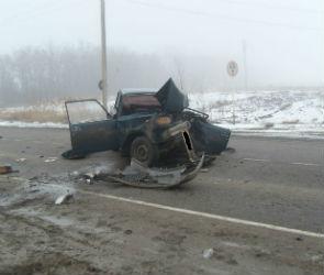 В Кантемировском районе в ДТП погиб мужчина и пострадал 2-летний ребёнок (ФОТО)