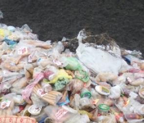 На окраине Воронежа неизвестные выбросили несколько десятков килограммов колбасы