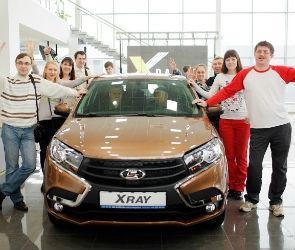 Как прошел старт продаж LADA XRAY в автосалоне «Дайнава-Лада Воронеж» (ФОТО)