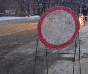 23 февраля будет ограничено движение по участку улицы Кольцовской в Воронеже