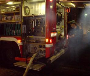 На улице Варейкиса выгорела квартира (фото)