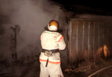 Вечером в субботу в Воронеже почти одновременно сгорели два гаража