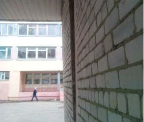 Постройка на территории воронежской школы угрожает жизни детей (ФОТО)