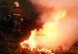 Под Воронежем спасатели тушили первые в 2016 году ландшафтные пожары