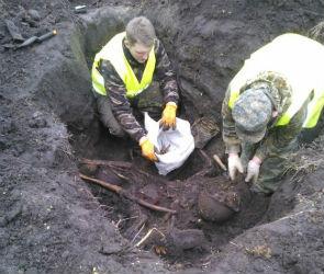 Воронежские поисковики нашли останки троих советских бойцов (ФОТО)