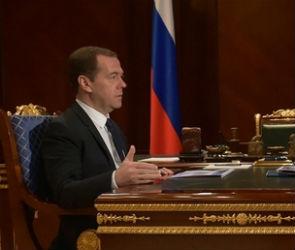 Дмитрий Медведев встретился с губернатором Воронежской области