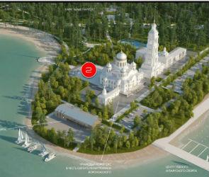 Власти показали, как будет выглядеть Левый берег через 10 лет (ФОТО)