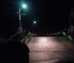 В Воронеже свели мост, соединяющий Шилово и Гремячье (ФОТО)