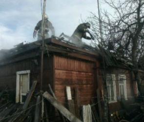 Под Воронежем мужчина, пытаясь покончить с собой, сжег дом