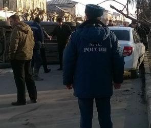 В Острогожске «Фиат» врезался в припаркованную «Ладу»: пострадала женщина (ФОТО)