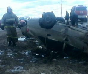 В Лискинском районе столкнулись три автомобиля (ФОТО)