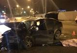 На набережной Массалитинова «Хендай» протаранил столб: водитель погиб (ФОТО)