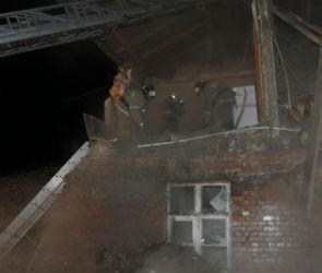 Появилось видео с места взрыва дома в Воронежской области (ВИДЕО)
