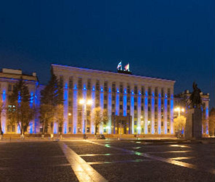 Воронеж подсветит фасады зданий синим в поддержку людей с аутизмом